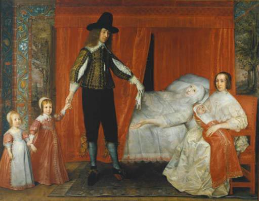 The Saltonstall Family 1636-37. Odd and just a little disturbing - what was he thinking of?